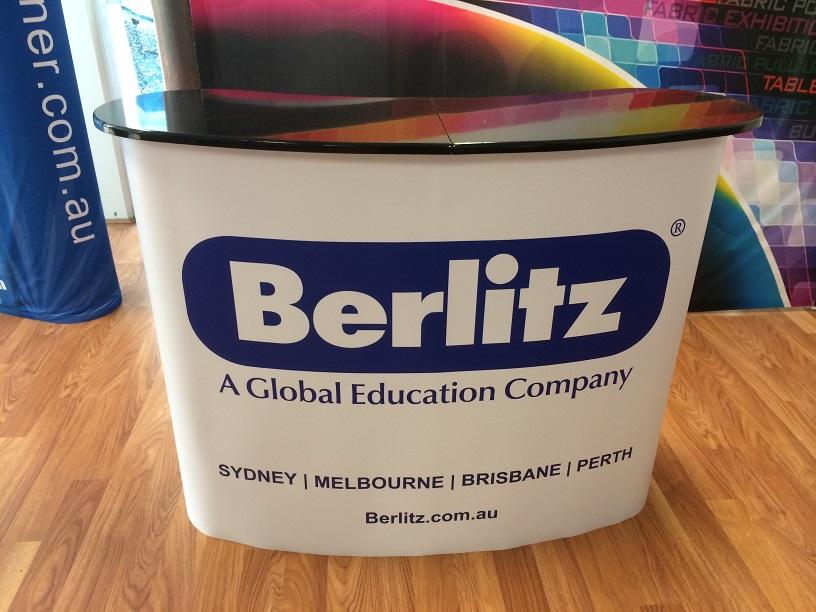 Promotion Table-Berlitz