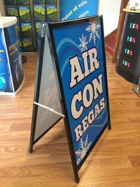 Corflute A Board - Aircon 02
